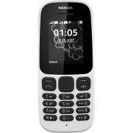 NOKIA 105 DUAL SIM 2017 white EU(GREEK MENU)