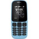 NOKIA 105 DUAL SIM 2017 Blue EU(GREEK MENU)
