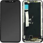 SOFT OLED Οθόνη LCD με Μηχανισμό Αφής για Apple iPhone X - Χρώμα: Μαύρο