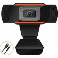 "Webcam με ""Clip"" Full HD Μαύρη με μικρόφωνω WEB370H"